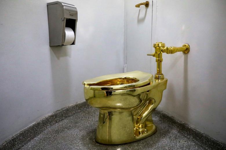 Two Weeks Left to Flush for Guggenheim's Gold Toilet