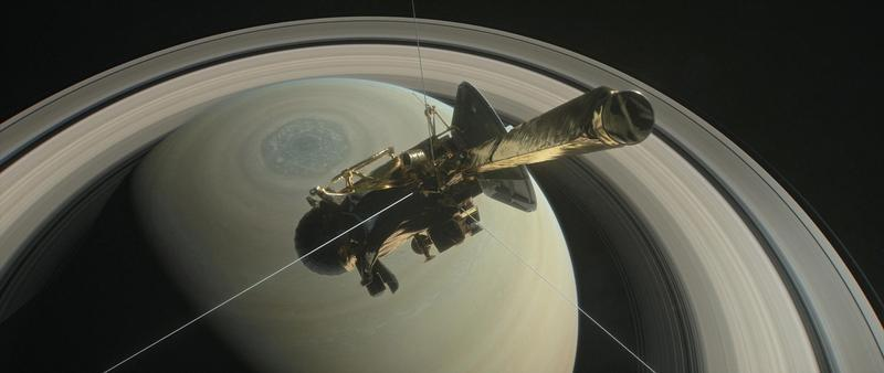 NASA Officials Meet the End of Cassini's Voyage With Applause, Tears