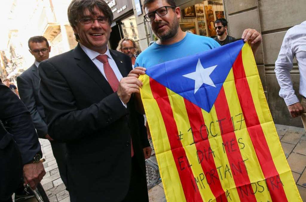Tension in Catalonia Rise Ahead of Referendum