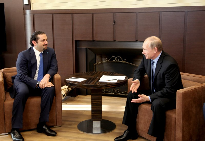 Supporting Lebanese Army is Main Item in Upcoming Putin-Hariri Talks