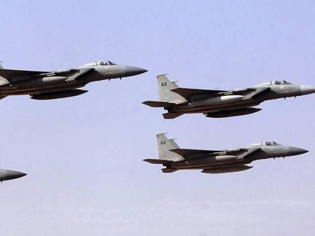Yemen: Arab Coalition Aircraft Targets Militia Communication Center in Hajjah