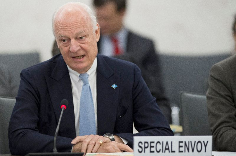 De Mistura Calls for New Round of Syria Talks in About a Month
