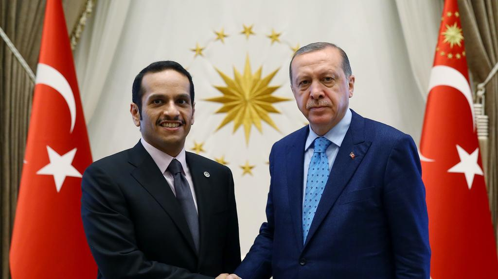 Turkey's Erdogan Meets with Qatari FM
