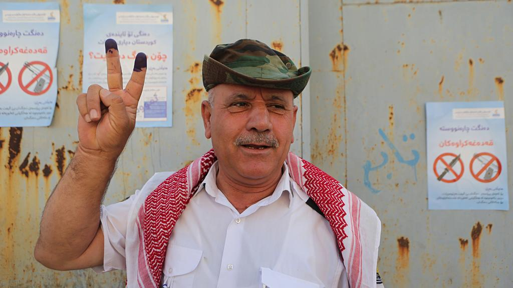 Kurds Vote despite their Neighbors' Threats