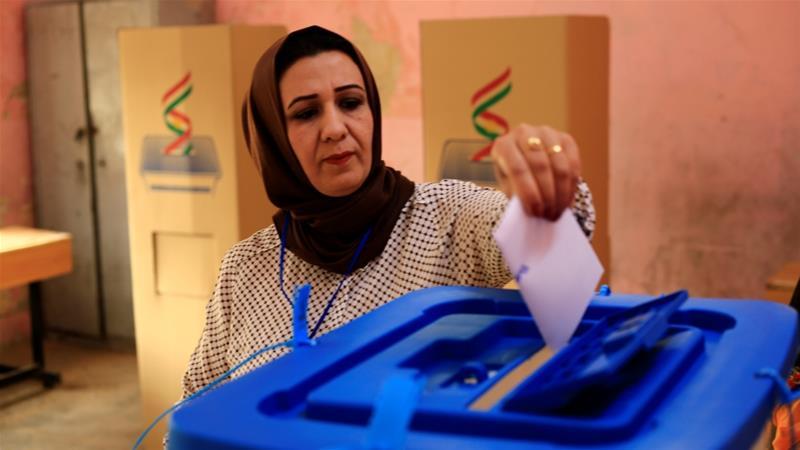 Iraqi Kurds Vote amid Tight Geographic Dragnet