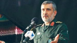 Commander of the Revolutionary Guards Aerospace Division says Brig.Gen Amir Ali Hajizadeh, confirms the refusal of his forces to give up the development of the ballistic program in Qom Monday speech