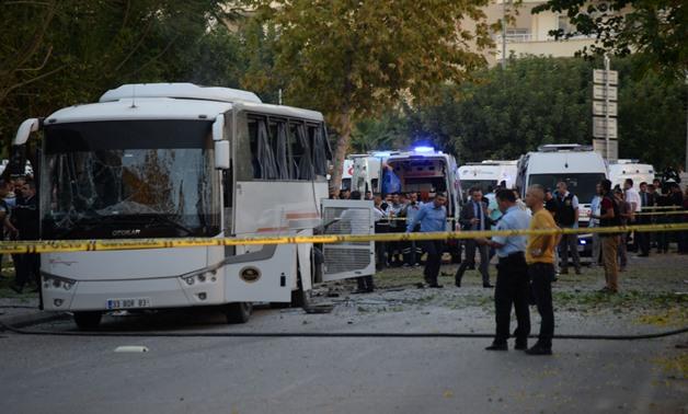 Eighteen Injured in Bomb Attack on Police Vehicle in Turkey's Mersin