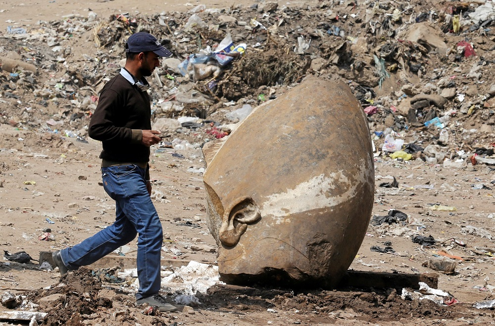 Ruins of King Rameses II Temple Discovered in Giza, Egypt
