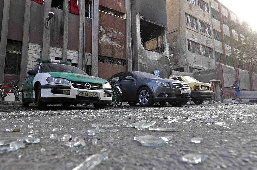 At Least 16 Killed in Suicide Bombings in Central Damascus