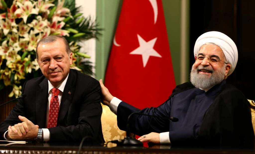 Iranian-Turkish Consensus to Prevent Changing Region's Borders