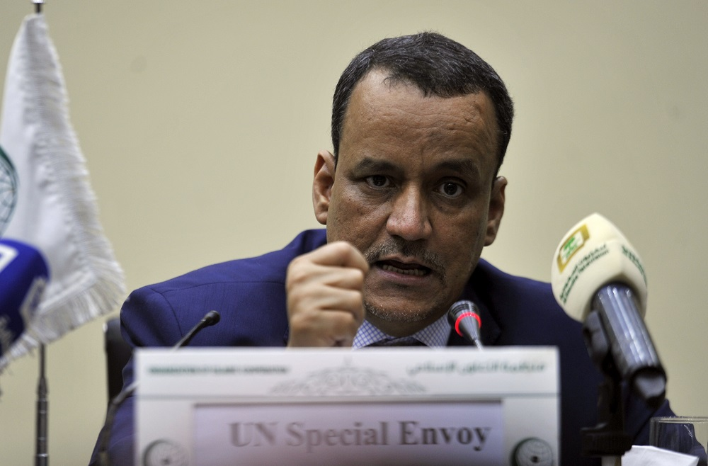 Yemen UN Envoy Underlines 'Transparent' Contacts with Houthis