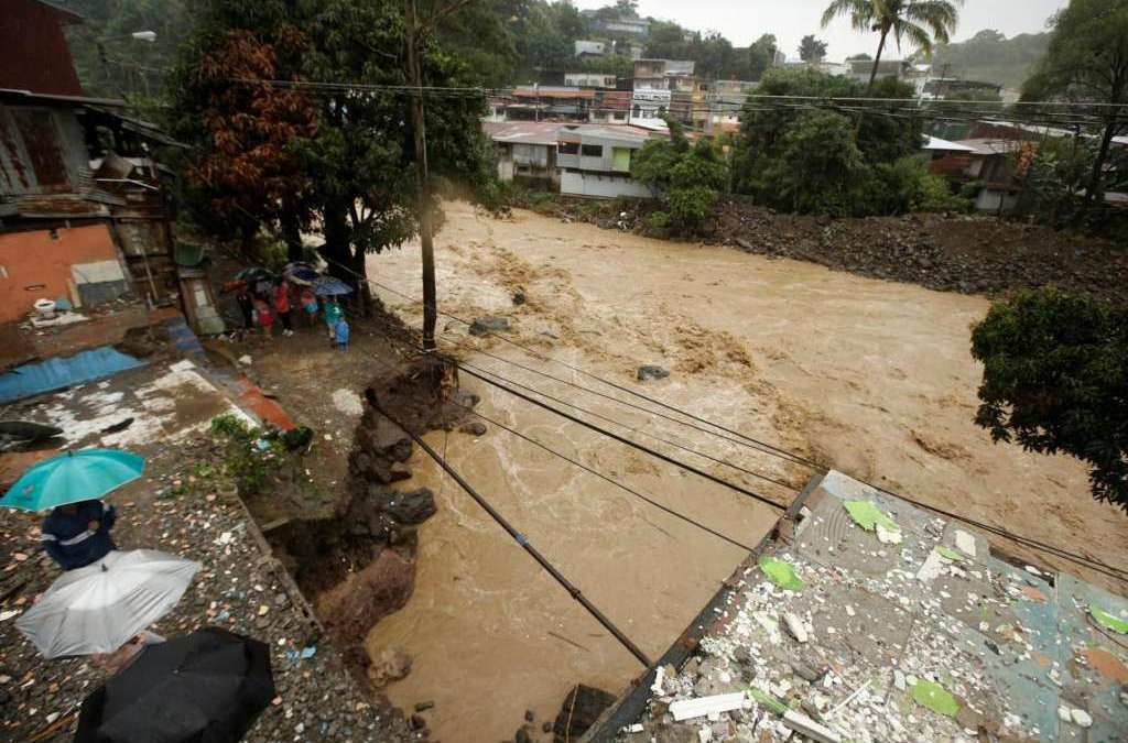 Deadly Tropical Storm Nate Kills 22 in Central America