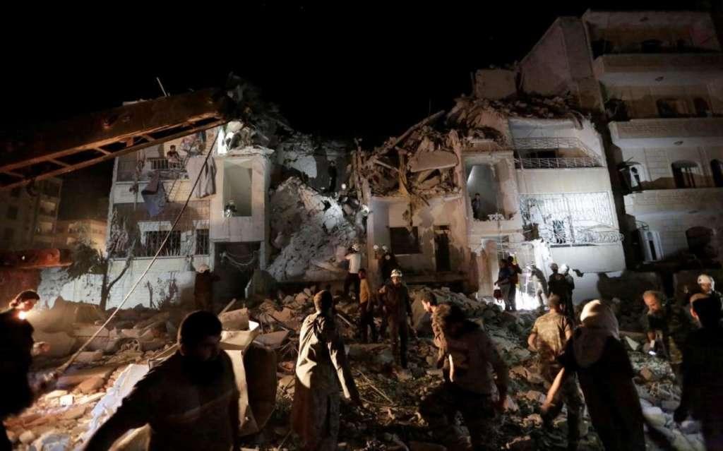 Russia Says Kills Dozens of Militants, Mercenaries in Syria