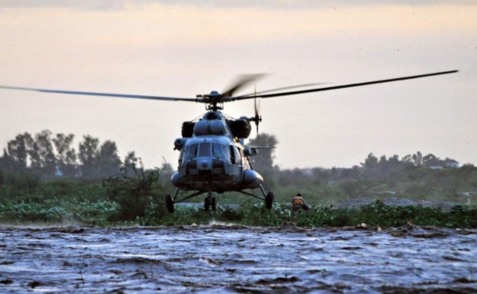 Indian Military Chopper Crashes Near China Border, 7 Dead