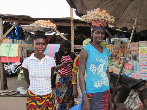 Women at Seguela Market