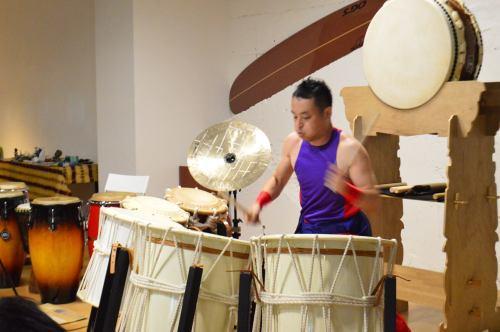 Ichitaro, Japanese traditional drums performer
