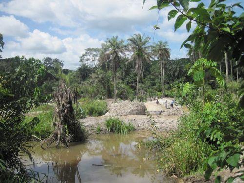 Mining claim in Bellekpalamu2