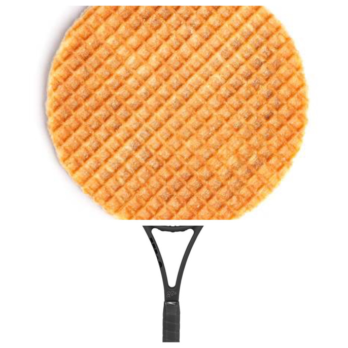 racquet + waffle