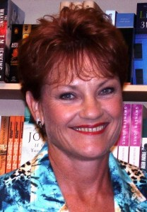 Pauline Hanson, leader of Australia's One Nation Party
