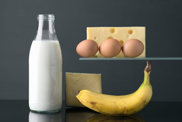 milk eggs and bananas localized pricing