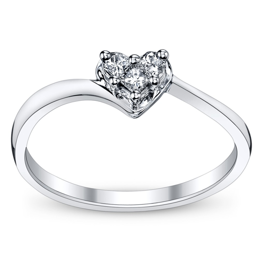 Cupids Engagement Ring Pick For Valentines Heart