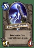 Dancing Swords Hearthstone: Curse of Naxxramas card