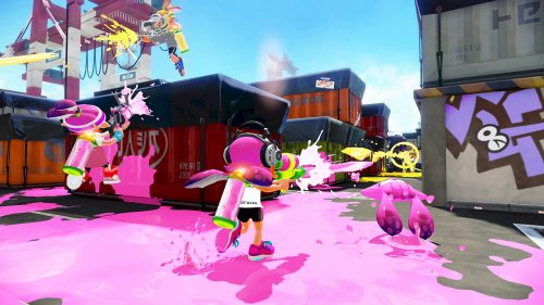 Wii U Splatoon Screenshot Port Mackerel