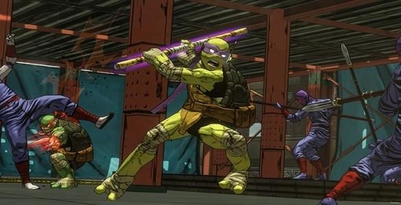 Teenage Mutant Ninja Turtles: Mutants in Manhattan Screenshot