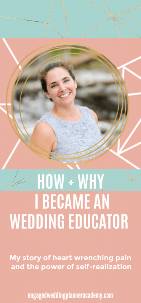 This is the story of my journey to becoming a wedding planner educator. business, day-of coordination course, education, event planning course, how to become a wedding planner, mindset, wedding planner business, Wedding Planner Class, Wedding planner course, wedding planner education, wedding planner seminar