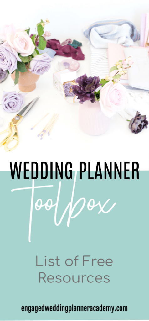 Our wedding planner toolbox is the perfect resource to find must-have information all in one place. No email sign up required—find it right on the site. event planning, how to become a wedding planner, Wedding Business, wedding business branding, wedding planner business, Wedding Planner Career, wedding planner materials, Wedding Planner products, wedding planner tools, list of free resources
