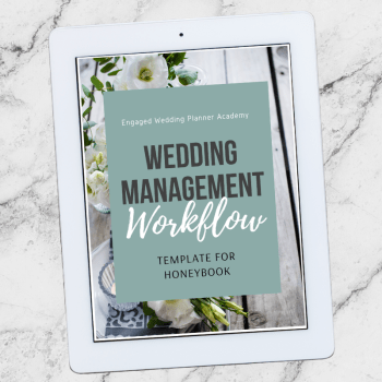 Wedding Management Workflow Template
