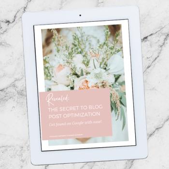 Wedding Planner Blog Post Worksheet