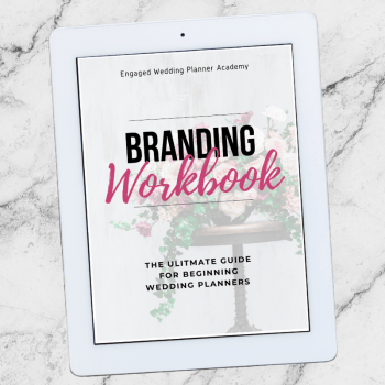Wedding Planner Branding Workbook
