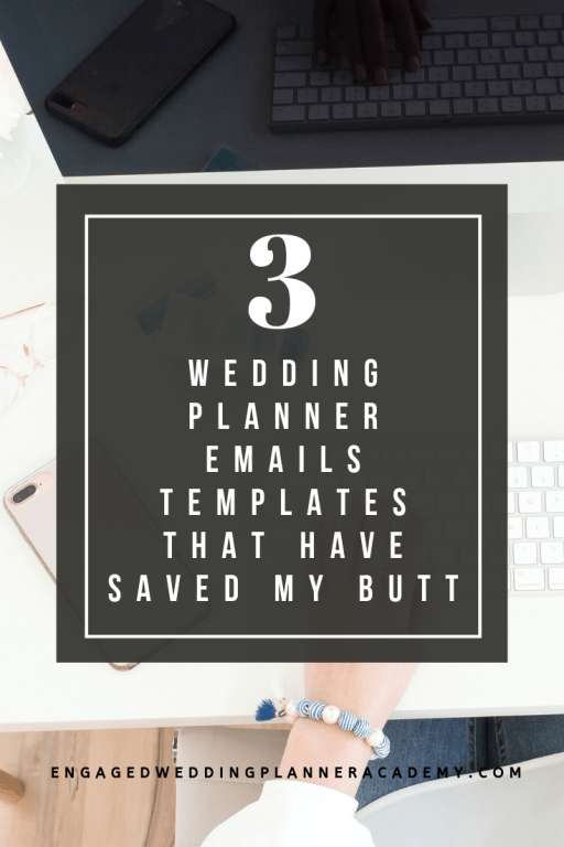 In this post I'm sharing three essential wedding planner emails that will help you communicate with your client.   becoming a wedding planner, Tips for wedding planners, wedding planner business, wedding planner education, Wedding Planner Emails, Wedding Planner Emails template, wedding planner free printable, wedding planner tips, emails for wedding planner