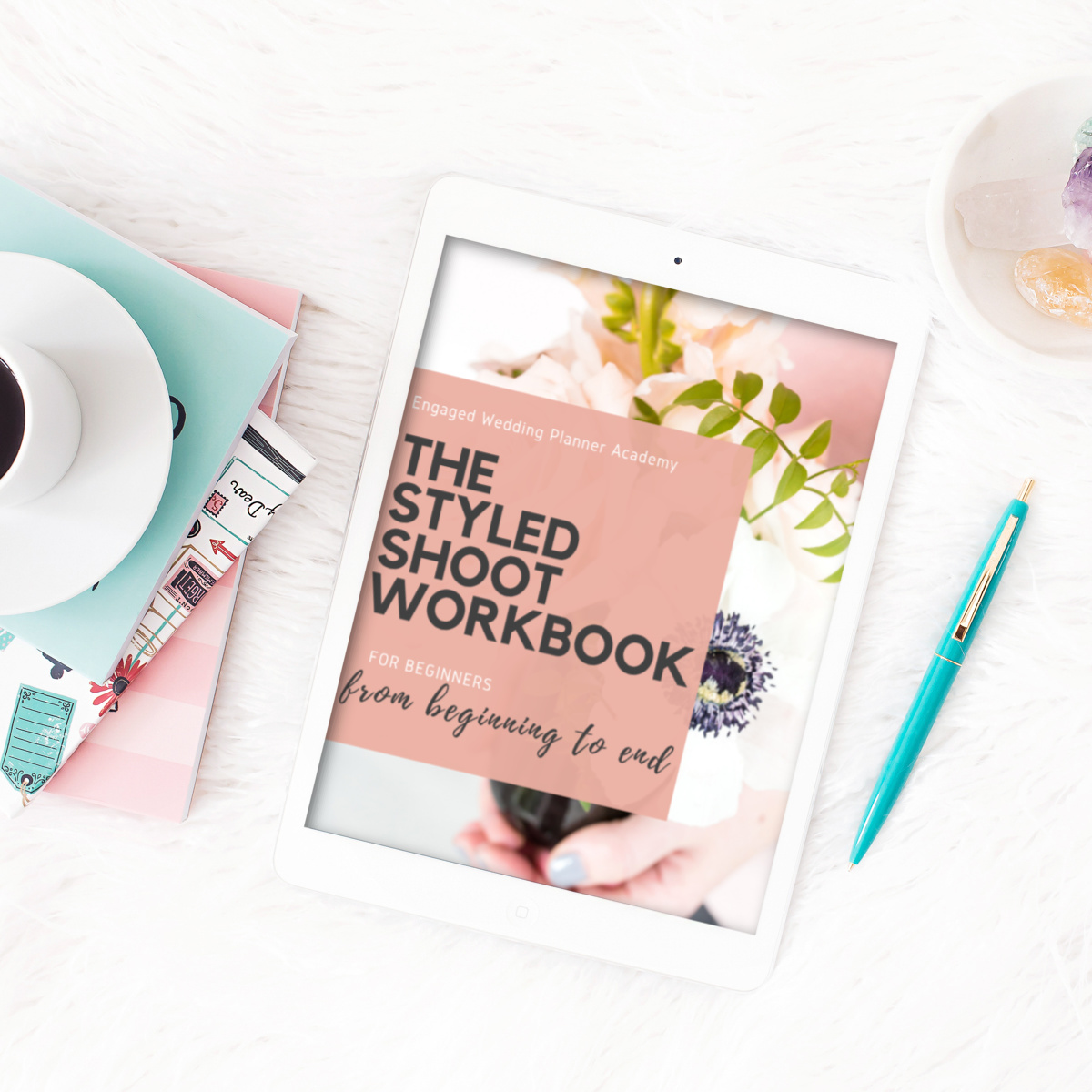 styled shoot workbook
