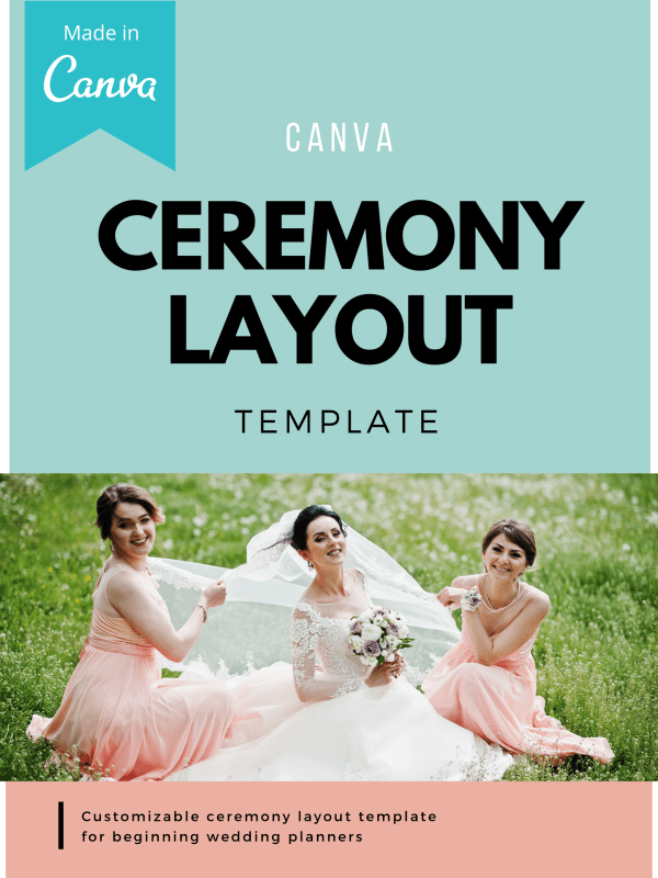 bridal party line up, ceremony attendants layout, ceremony layout design, Ceremony Layout Template, wedding ceremony outline template, wedding party lineup template