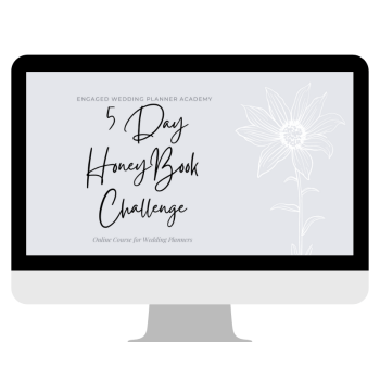 HoneyBook 5 Day Challenge