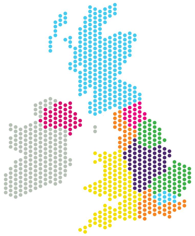 regional TAG map