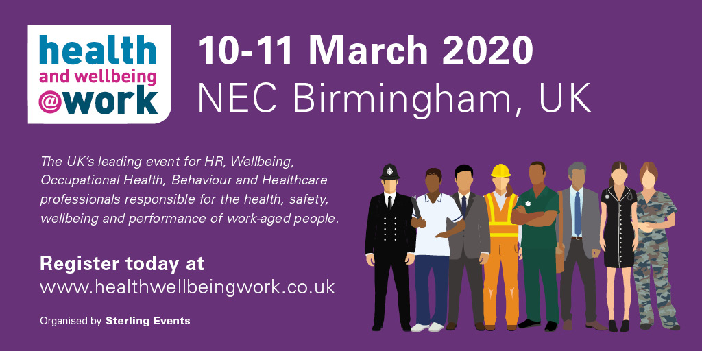health and wellbeing at work 2020