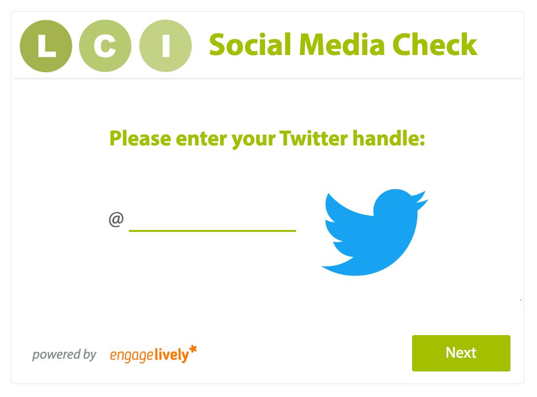Landis Communication's Social Media Check