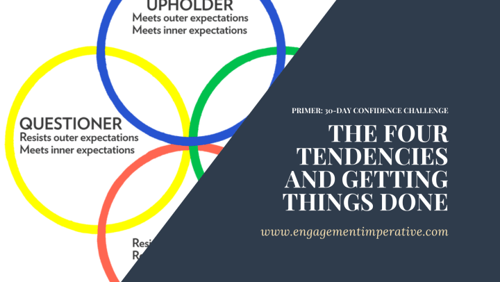 The Four Tendencies and Getting Things Done Part 1
