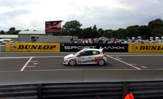 Onto the Clio Cup. Whilst one Hamilton was about to embark on a drive to victory in Canada, younger brother Nick was going to be less successful.