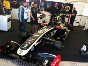 2011 Lotus Renault R30.
