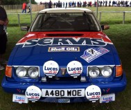 How the late Tony Pond managed to rally a Rover SD1 Vitesse is beyond me. Look at the size of it?!