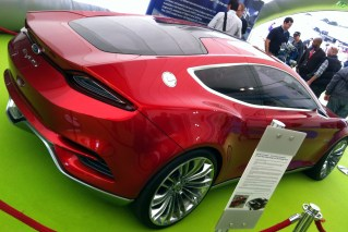 Ford Evos concept. ESM's mate Dave demands they build it looking like that!