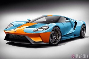 The TameGeek's imagining of the new GT in classic Gulf livery
