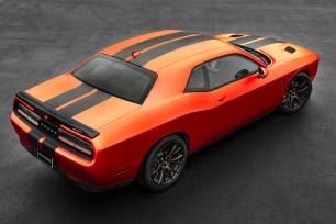 2016 Dodge Challenger SRT Go Mango