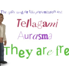 Tellagami + Type Drawing