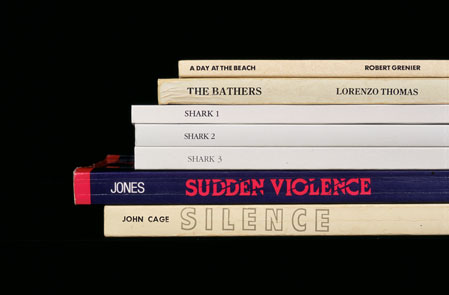 """One of my favorite """"Sorted Books"""" photos by artist Nina Katchadourian"""