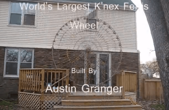 World's Largest K'nex Ferris Wheel - created by Austin Granger